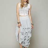 Free People  5 Layer Maxi Skirt at Free People Clothing Boutique