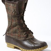 Signature L.L.Bean Boot, Wool Houndstooth 10