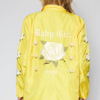 Kendall and Kylie Embroidered Coach Jacket at PacSun.com
