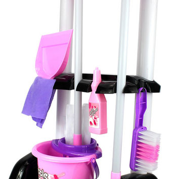 Velocity Toys Little Helper Cleaning Trolley Cart