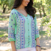 Cypress Blouse