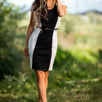 Taking Care of Business Dress - SexyModest Boutique