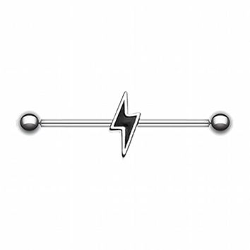 Lightning Bolt Industrial Barbell