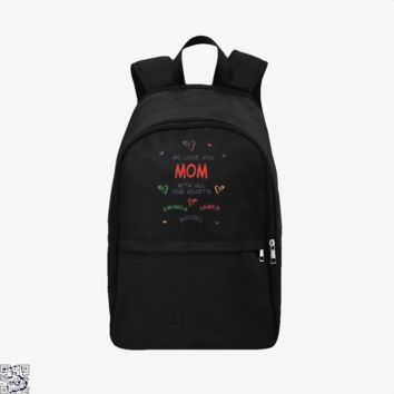 All Our Hearts Personalized, Mother's Day Backpack