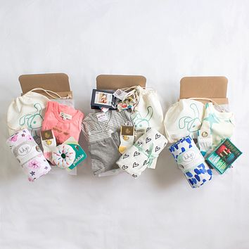 Welcome Baby Newborn Gift Box by Smockbox