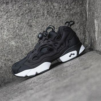 kuyou Reebok Insta Pump Fury Black White (Tmall ORIGINAL)