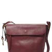 Fossil 'Haven' Leather Bucket Bag