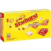 STARBURST FRUIT CHEWS (2.07 OZ. 36 CT.)