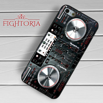 DJ Turntables - z321z for iPhone 6S case, iPhone 5s case, iPhone 6 case, iPhone 4S, Samsung S6 Edge