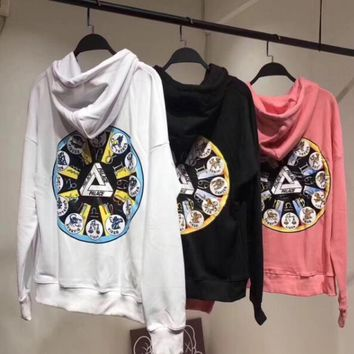 PALACE Fashion Constellations Print Hooded Top Sweater Hoodie