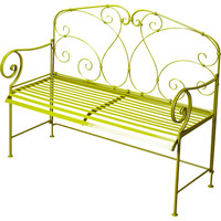 Halle Transitional Bench Green