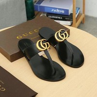 Gucci Men And Women Fashion Casual Slippers-2