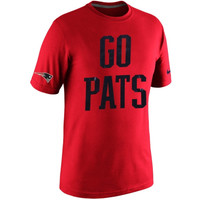 New England Patriots Nike Tri-Blend T-Shirt – Red