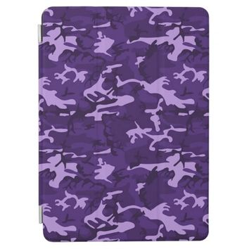 Purple Camouflage Pattern iPad Air Cover