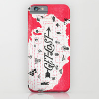Get Lost iPhone & iPod Case by Landon Sheely