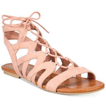 American Rag Marlie Lace-Up Sandals, Only at Macy's | macys.com