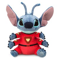 "disney store authentic lil & stitch 16"" stitch in space suit plush new with tag"