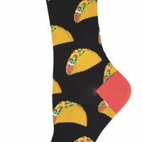 Taco Women's Crew Socks