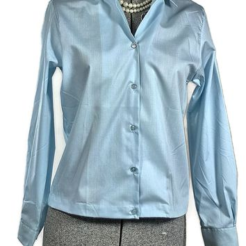 Blue Bayou 1960 Vintage Teen Blouse