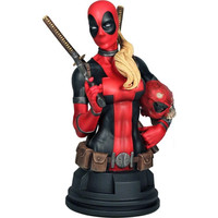 Lady Deadpool Mini Bust