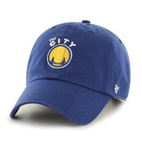 NBA Golden State Warriors '47 Clean Up Adjustable Hat, Royal, One Size