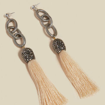 The Allora Tassel Earrings