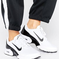 Nike Air Max Jewell Sneakers In White And Black at asos.com