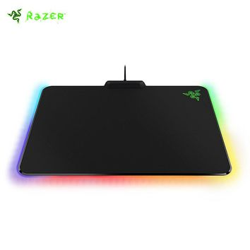 New Arrival Razer Firefly Chroma Customized RGB Hard Gaming Mouse Mat Lighting Synapse Enabled Micro-textured Gaming Mouse Pad