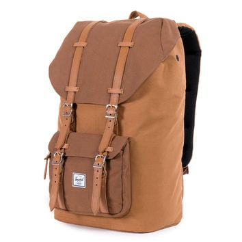 Herschel Supply Co.: Little America Backpack - Caramel Cotton Canvas (10014-00414-OS)