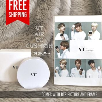 VT x BTS Collagen Pact, Air CC CUSHION Comes with BTS Picture