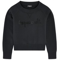 Dsquared2 Girls Rhinestones Logo Sweatshirt