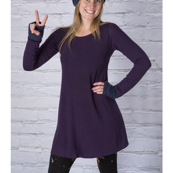 Nahla Long Sleeve Knit Tunic