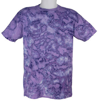 Tie Dye Marble Purple Scrunch Festival T-Shirt