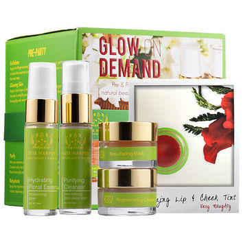 Tata Harper Glow On Demand Pre & Post Party Natural Beauty Essentials