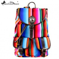 Montana West Serape Backpack  MW351-9110
