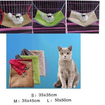 Cat Removable Hanging Soft Bed Hammock Plush S/M/L