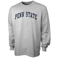 Penn State Nittany Lions Ash Vertical Arch Long Sleeve T-shirt