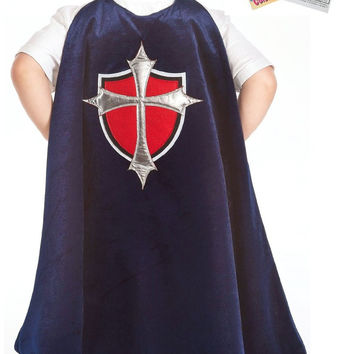 Little Adventures 22031 Prince Cape Play Costume Age 3-8 with Coloring Book