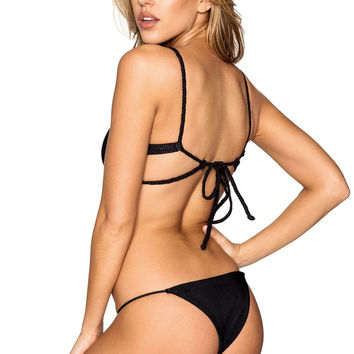 Frankie's Bikinis Willa Bottom - Black