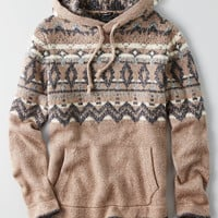AEO Baja Hooded Sweater, Brown