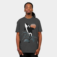 Orca T Shirt By VanessaGF Design By Humans