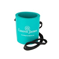 Hanging Can Holder in Seafoam by Lauren James - FINAL SALE