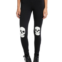 Skull Knee Leggings