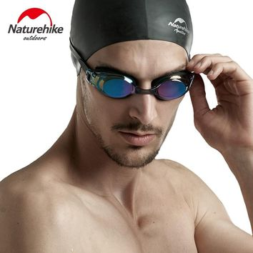 Professional Silicone myopia Swimming Goggles Anti-fog UV Swimming Glasses for Men Women diopter Sports Eyewear Naturehike