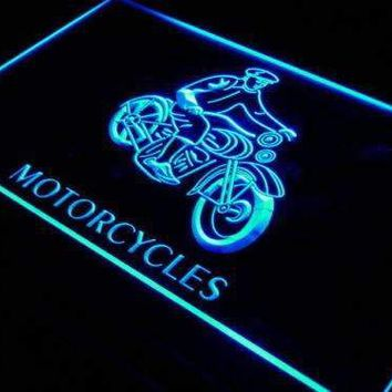 Motorcycles for Sale Repairs Neon Sign (LED)