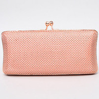 The Underground Clutch in Rose Gold