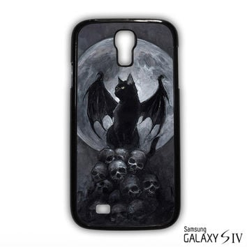 Horror Con the BatCat for Samsung Galaxy S3/4/5/6/6 Edge/6 Edge Plus phonecases