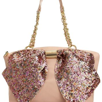 Betsey Johnson Handbag, Bow-nanza Satchel - Mstylelab Brands - Handbags & Accessories - Macy's