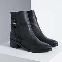 Miista Justine Boot- Black Us