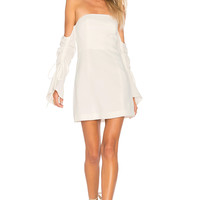 C/MEO Right Kind Of Madness Dress in Ivory   REVOLVE